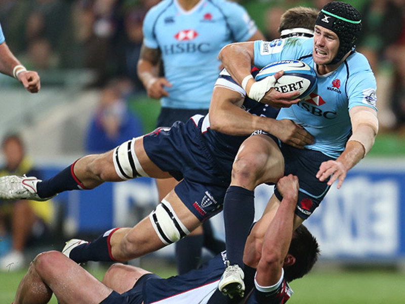 Large rebels v waratahs