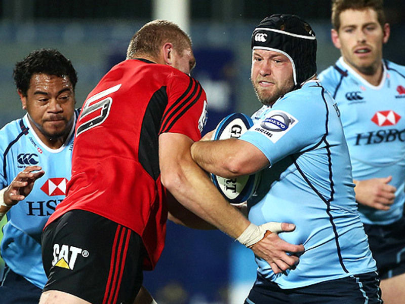Large crusaders v waratahs