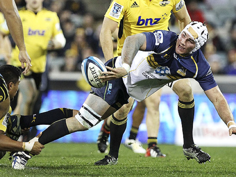 Large brumbies v hurricanes