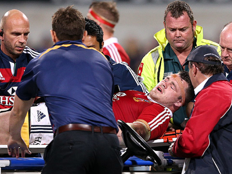 Large cian healy lions injured