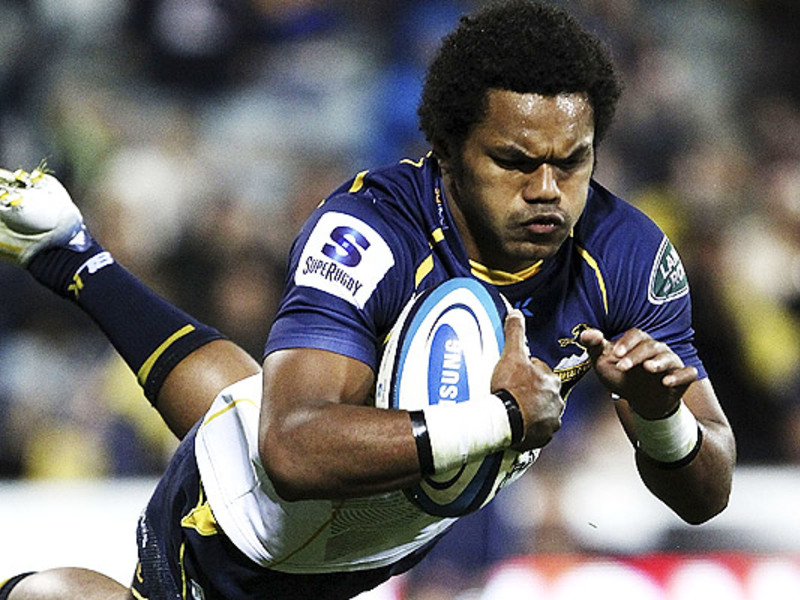 Large henry speight brumbies try