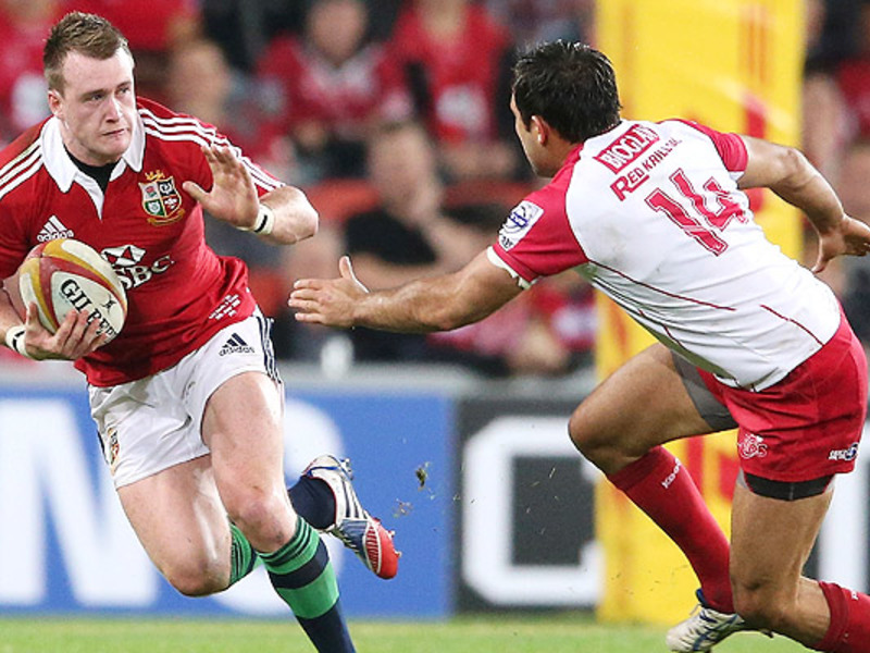 Large stuart hogg b i lions v red
