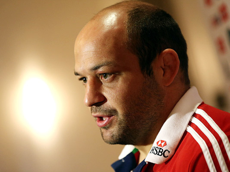 Large rory best b i lions face