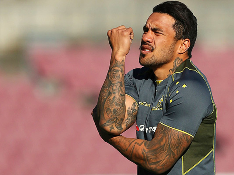 Large digby ioane wallabies train