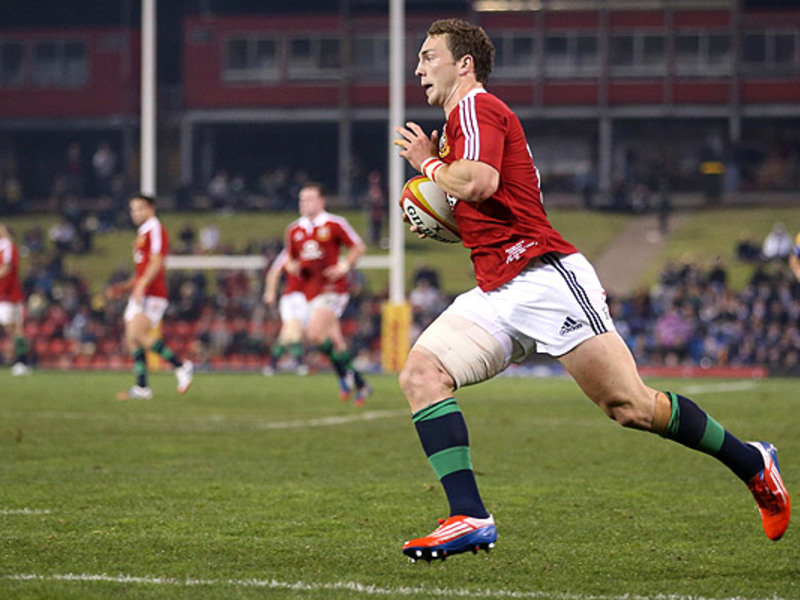 Large george north b i lions runs