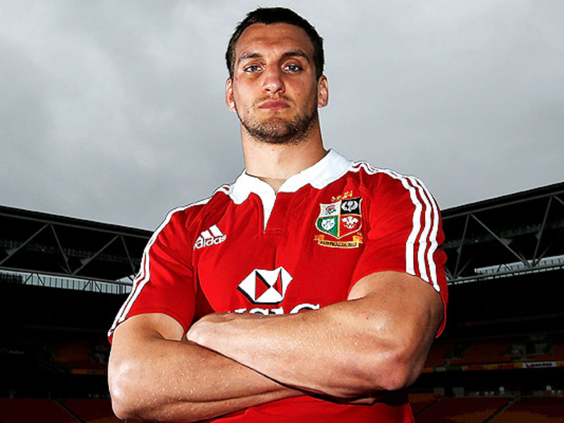 Large sam warburton poses