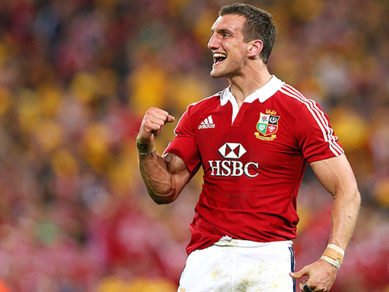 Large sam warburton celebrates