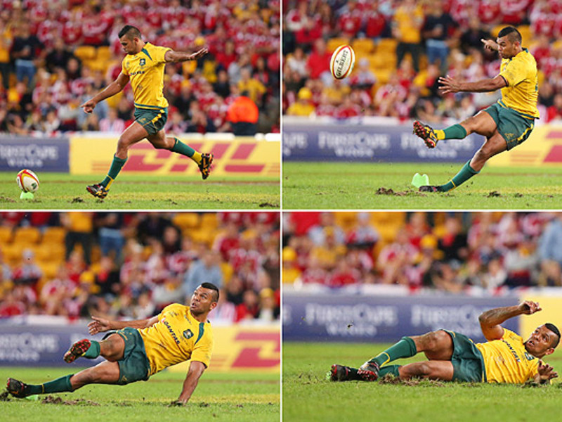 Large kurtley beale slips