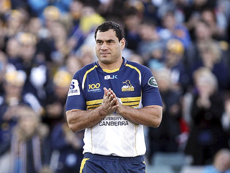Large george smith brumbies crowd
