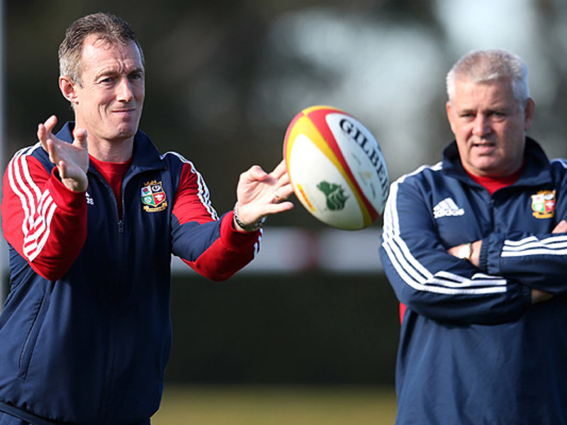 Large rob howley   warren gatland