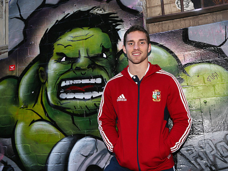 Large george north b i lions graf