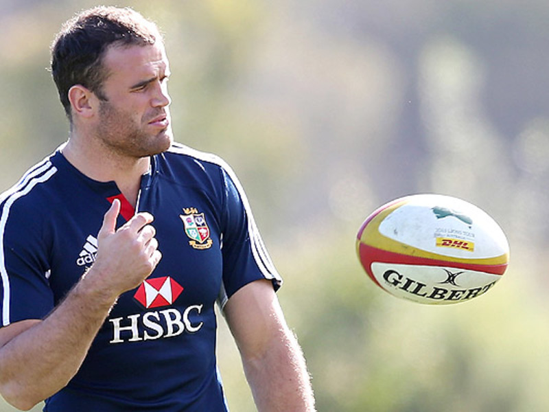Large jamie roberts b i lions tra