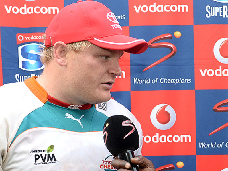 Large adriaan strauss interviewed