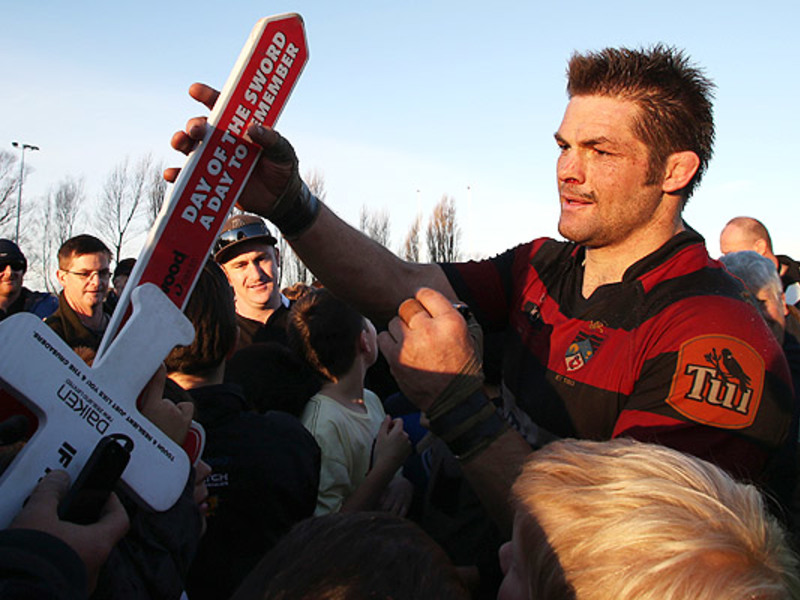 Large richie mccaw signs autograp