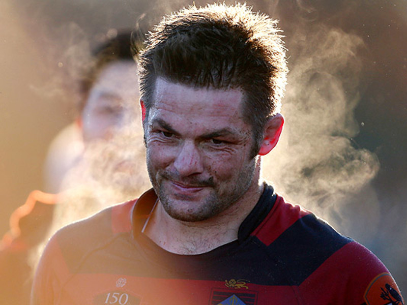 Large richie mccaw steams