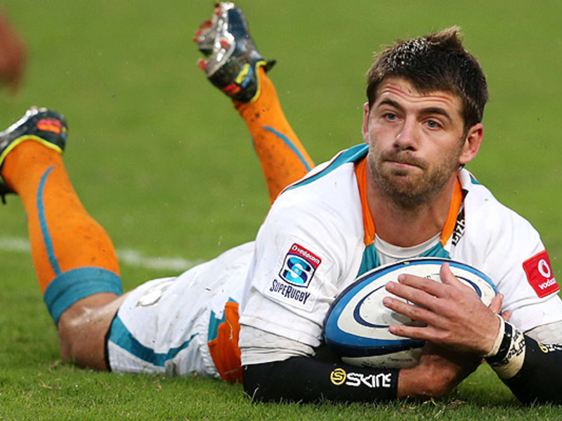 Large willie le roux cheetahs try