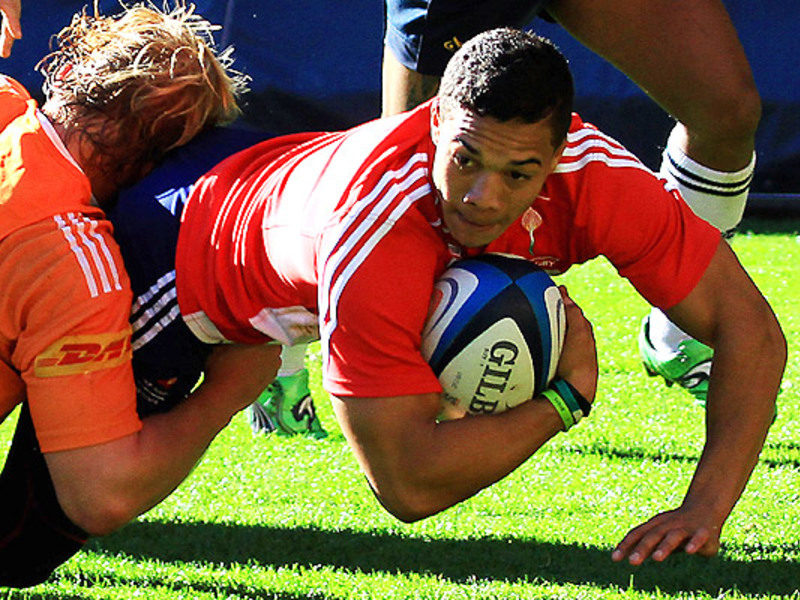 Large cheslin kolbe wp training