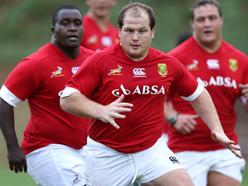 Large lourens adriaanse with boks