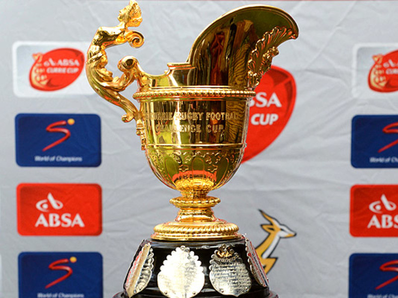 Large currie cup trophy