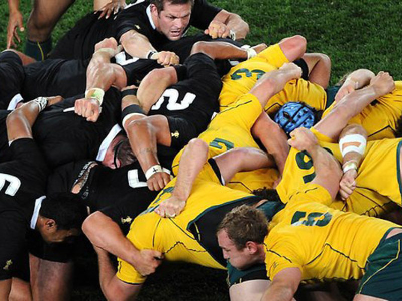 Large nz v aus scrum