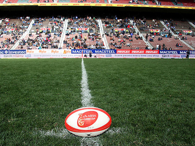 Large rugby ball at newlands