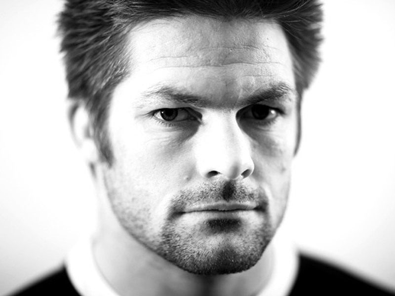 Large richie mccaw b w