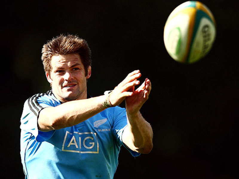 Large richie mccaw pass ball