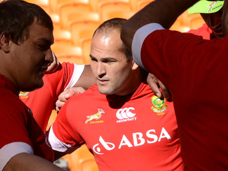 Large fourie du preez bok huddle