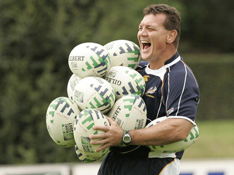 Large balie swart with balls