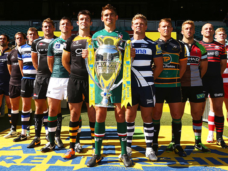 Large premiership launch 2013