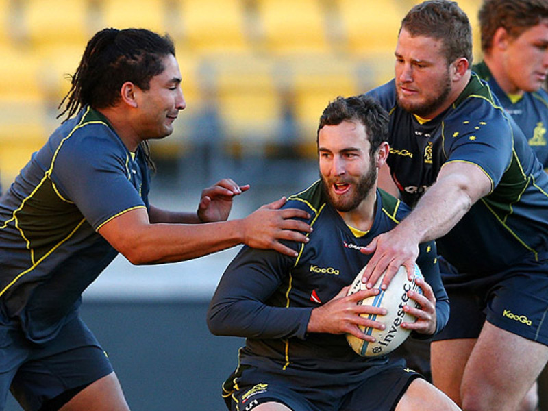 Large nic white wallaby training