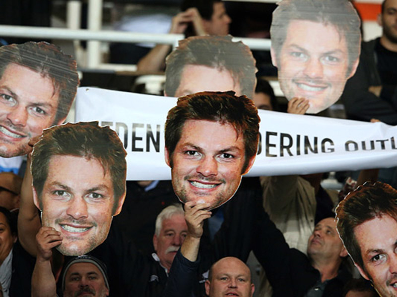 Large richie mccaw faces in the c