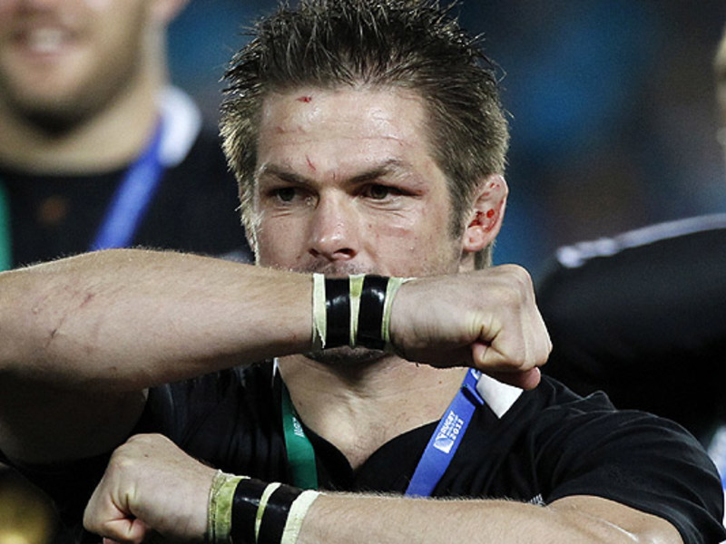 Large richie mccaw haka