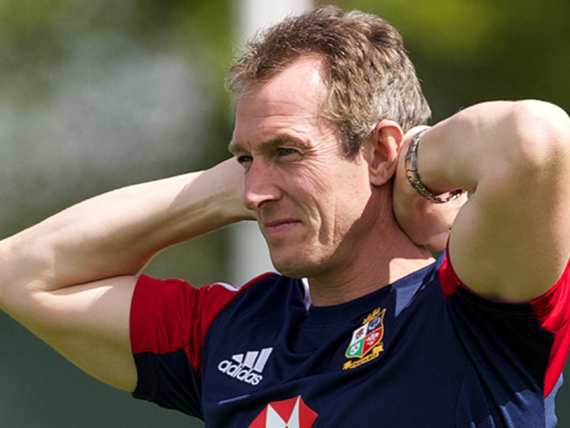 Large rob howley hands on head
