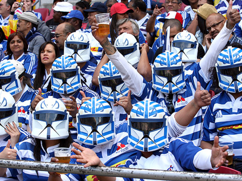 Large western province fans