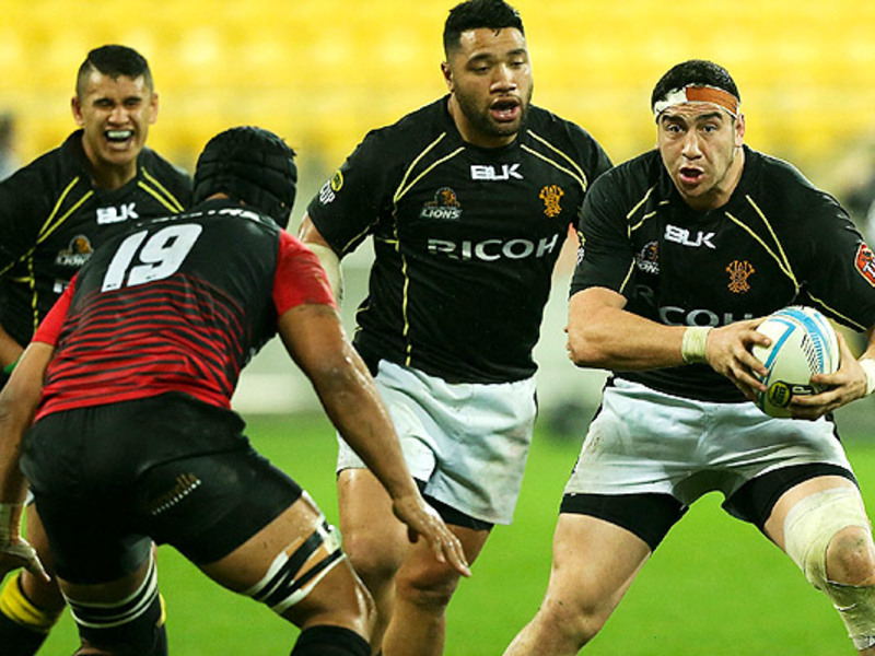 Large wellington lions v canterbu