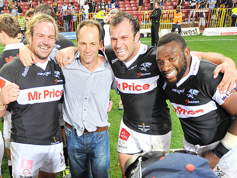 Large brendan venter with sharks