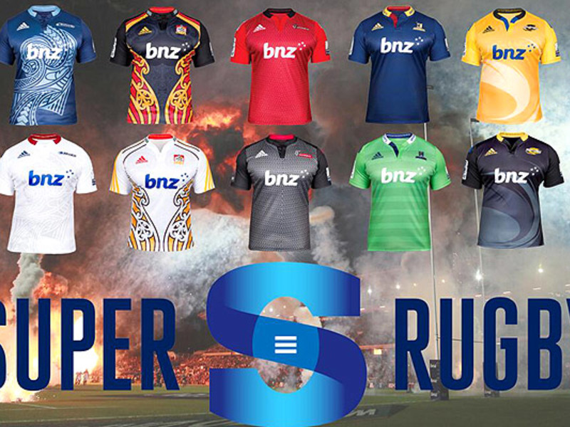 Large nz s new super rugby shirts