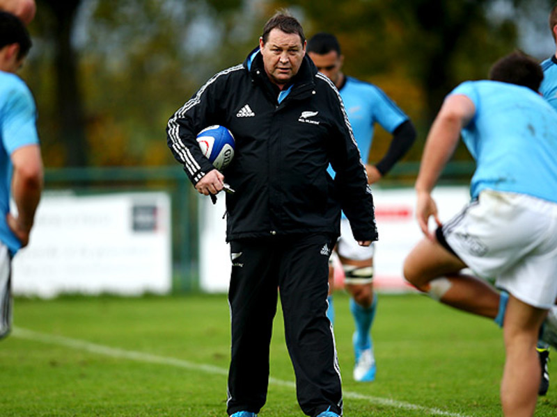 Large steve hansen all blacks tra