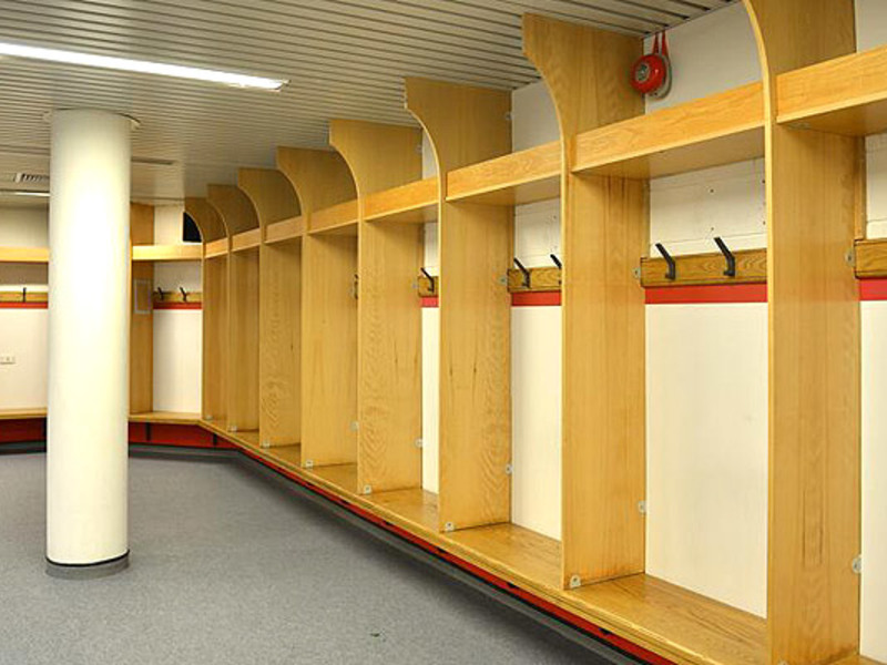 Large england dressing room befor