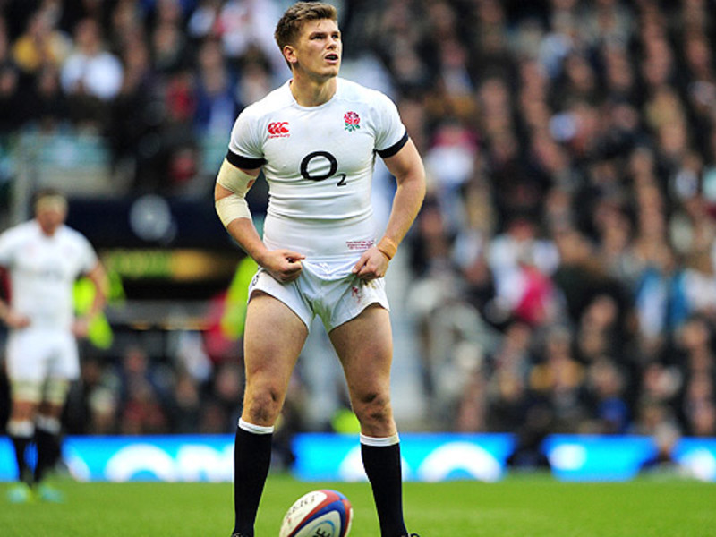Large owen farrell england kicks
