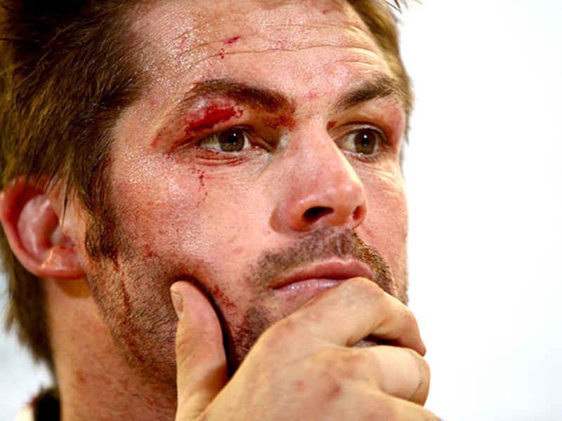 Large richie mccaw face