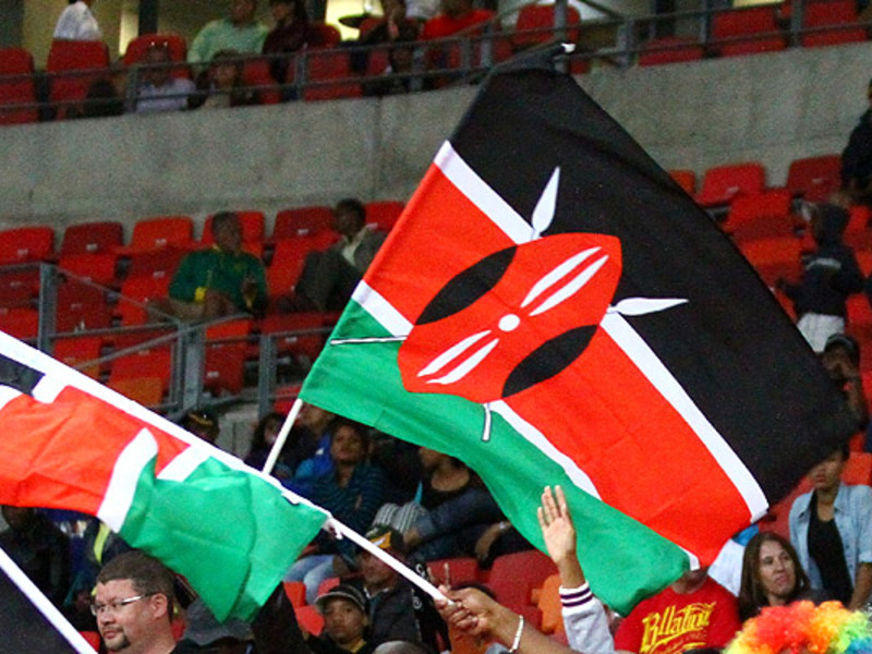 Large kenyan flag