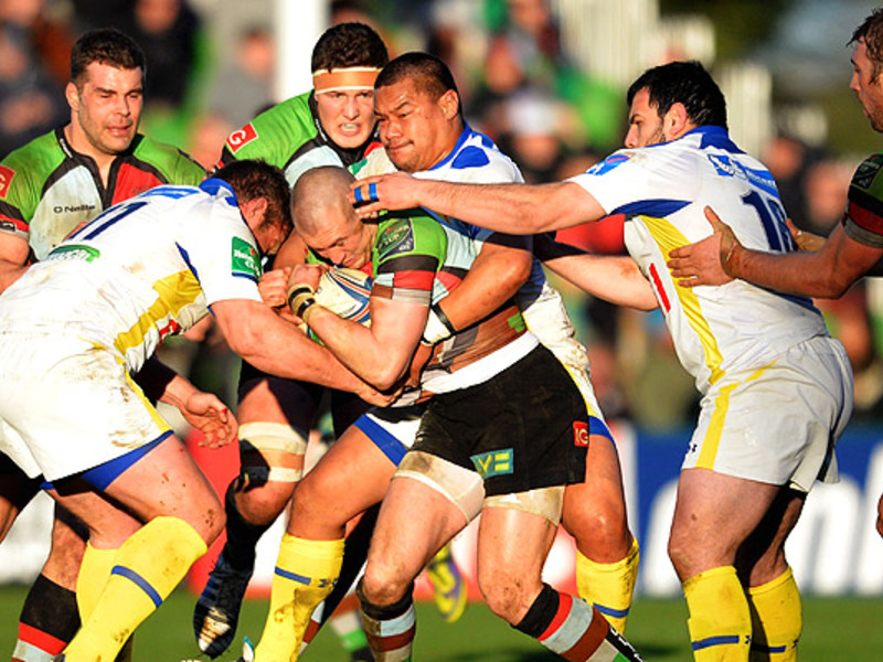 Large harlequins v clermont