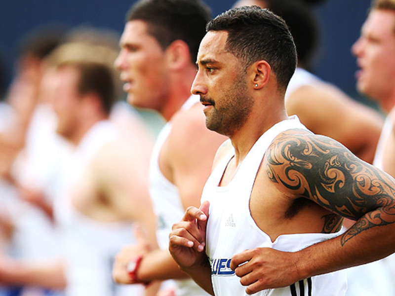 Large benji marshall blues traini