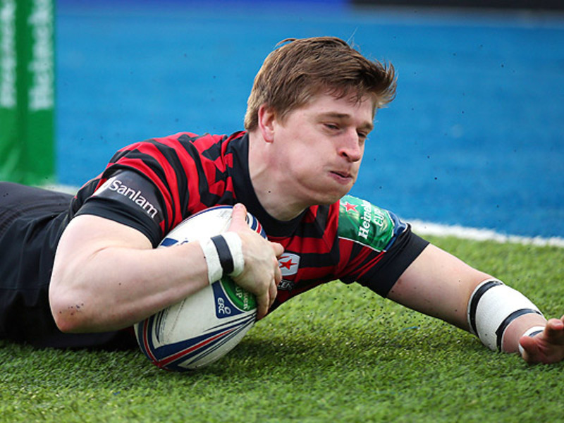 Large david strettle saracens
