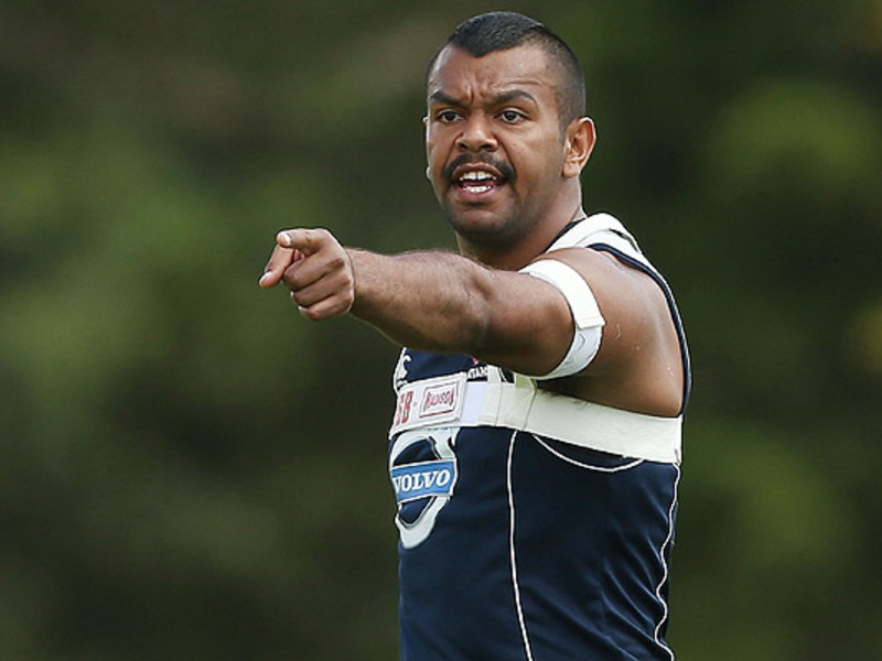 Large beale waratahs training