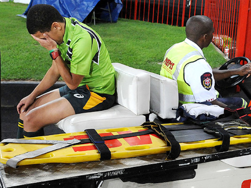 Large jason jaftha injured