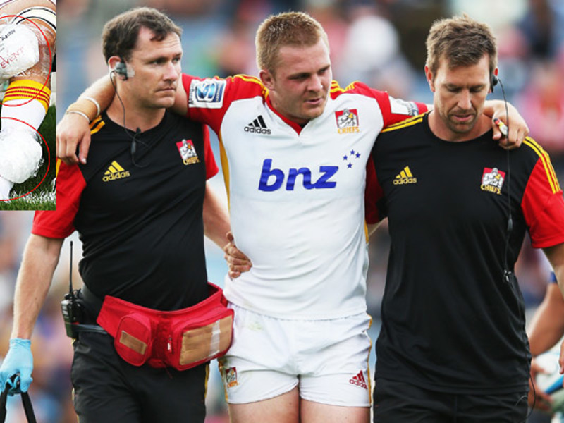 Large sam cane injured