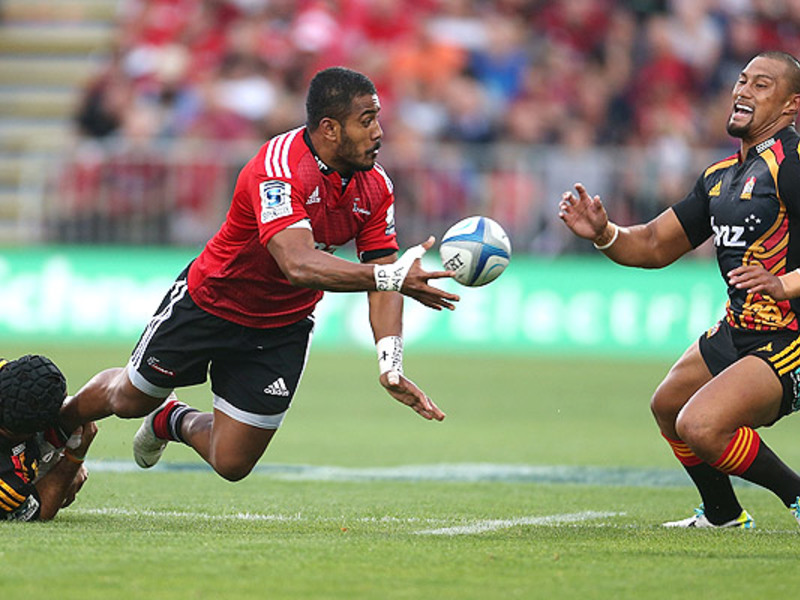 Large crusaders v chiefs